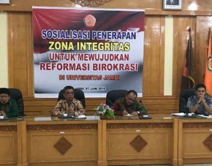 Fakultas Hukum dan LPTIK Unja Diajukan ke Kementerian, Predikat Menuju WBK