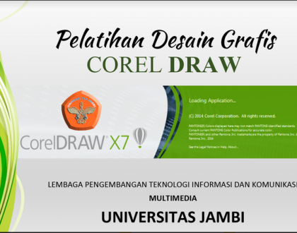 BAHAN POWER POINT (MS OFFICE) TENTANG PELATIHAN DESAIN GRAFIS COREL DRAW