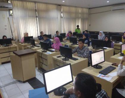 Berlangsungnya Test of English Proficiency (TOEP) dan Tes Kemampuan Dasar Akademik (TKDA) PLTI di Universitas Jambi
